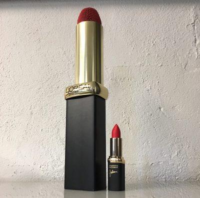L'Oreal Lipstick Microphone Thumbnail